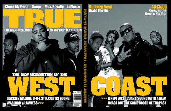 TRUE Magazine: The Next Generation of the West Coast