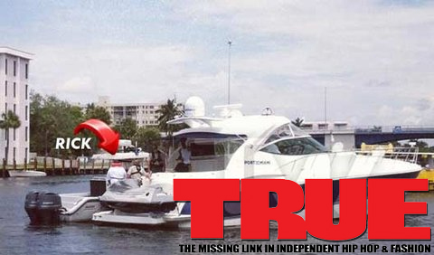 Puff & Pass: Rapper, Rick Ross Pulled Over By Cops On A Boat For Weed