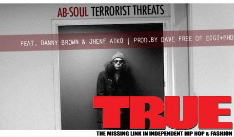 AUDIO: Ab-Soul ft. Danny Brown & Jhene Aiko – Terrorist Threats