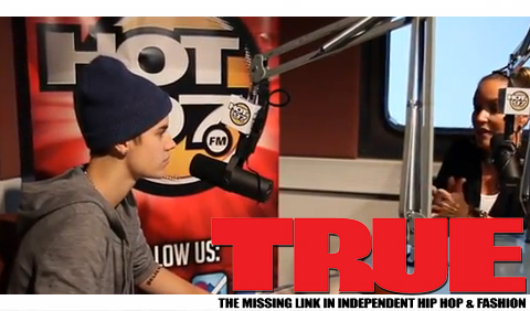 VIDEO: Justin Bieber spits some Biggie & Tupac on The Angie Martinez