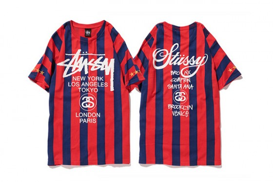 "Stussy 2014 Summer ""NTRNTNL"" Soccer Collection"