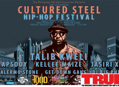 Pittsburgh Hip Hop Festival to Feature Talib Kweli, Rapsody, 9th Wonder Film Screening & Art Exhibition