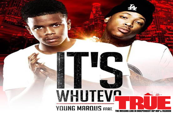 "14 Year Old SLAYS Track with ""YG"" 