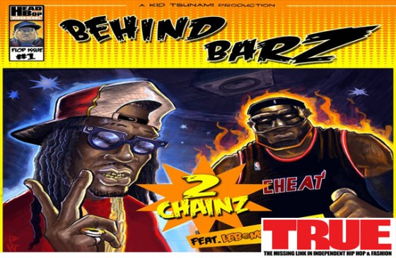 "New Music: Kid Tsunami f/ 2 Chainz & LeBomb James ""Behind Barz"""