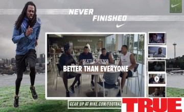 Dom Kennedy Featured In Richard Sherman / Nike Campaign