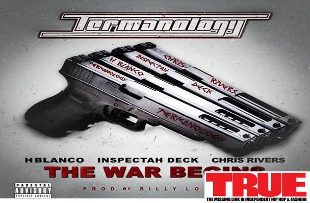 "New Music: Termanology f/ Inspectah Deck, Chris Rivers & H Blanco ""The War Begins"""