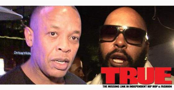 Dr.Dre Scoffs At Suge Knight's Claims That He Wanted A Peace Meeting