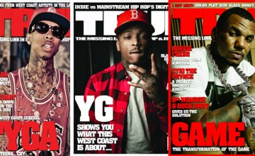 Tribute to TRUE Magazine's Straight West Costin' Theme: Game, YG, Tyga