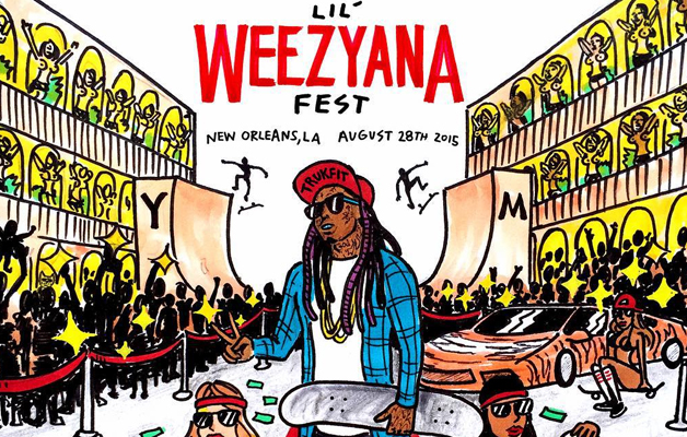 Lil Wayne Annouces Weezyana Fest In New Orleans August 28th
