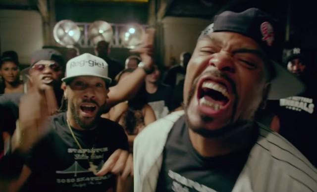 Method Man - Straight Gutta ft. Redman, Hanz On, Streetlife (Official Music Video)