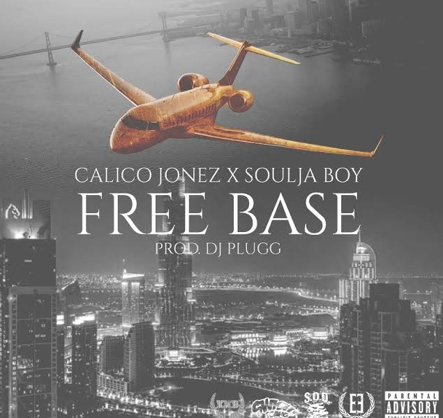 """FREE BASE"" SOULJA BOY & CALICO JONEZ http://www.audiomack.com/song/dirty-glove-bastard/free-base"