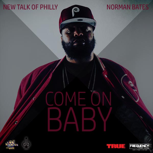 Norman Bates Come On Baby _Cover Artwork